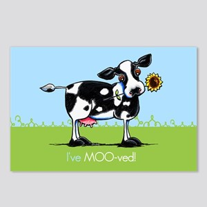 Ive Moved Cow New Address Postcards (Package of 8)