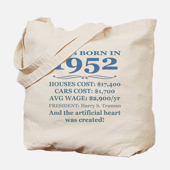 Birthday Facts-1952 Tote Bag