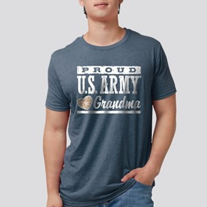 proudarmygrandma777b Mens Tri-blend T-Shirt