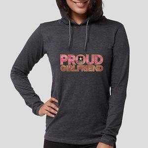 Proud Army Girlfriend Womens Hooded Shirt