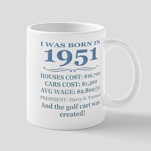 Birthday Facts-1951 Mugs