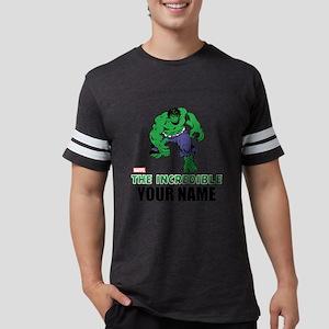 Personalized Incredible Hulk Mens Football Shirt
