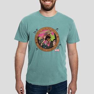 Squirrel Girl Action Mens Comfort Colors Shirt