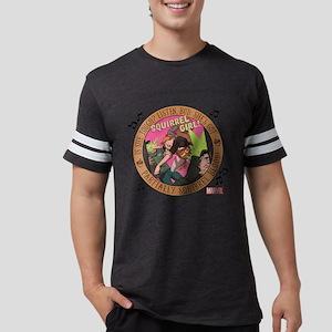 Squirrel Girl Action Mens Football Shirt