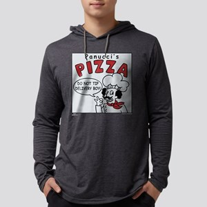 Panucci's Pizza Dark Mens Hooded Shirt