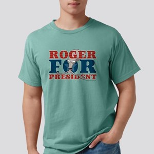 Roger for President Ligh Mens Comfort Colors Shirt