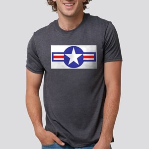 airforcestarandbars Mens Tri-blend T-Shirt
