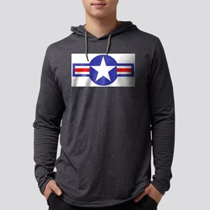 airforcestarandbars Mens Hooded Shirt
