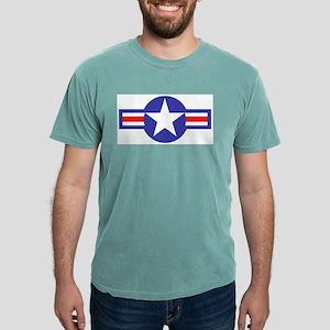 airforcestarandbars Mens Comfort Colors Shirt