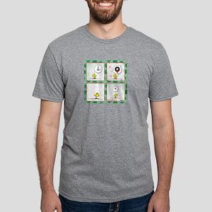 A Very Woodstock Christmas Mens Tri-blend T-Shirt