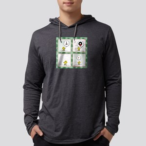 A Very Woodstock Christmas Mens Hooded Shirt
