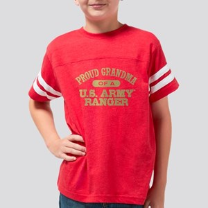 pgrandmausarmyrangerd Youth Football Shirt
