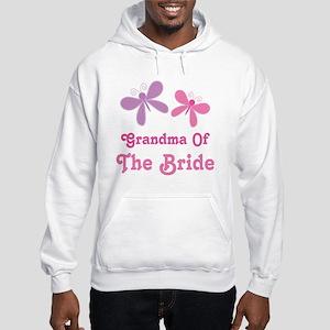 Grandma of the Bride Hooded Sweatshirt