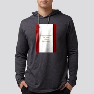Congratulations U. S. Army Retir Mens Hooded Shirt