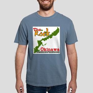 the rock Mens Comfort Colors Shirt