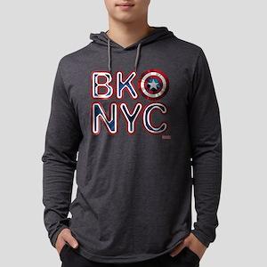 Captain America BKNYC Mens Hooded Shirt