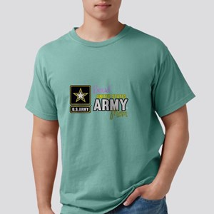 Proud US Army Mom Mens Comfort Colors Shirt