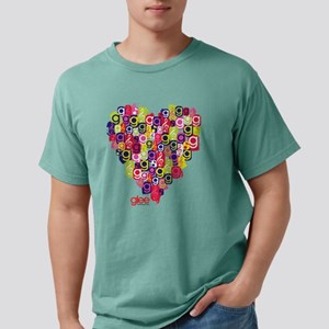 Glee Heart Light Mens Comfort Colors Shirt