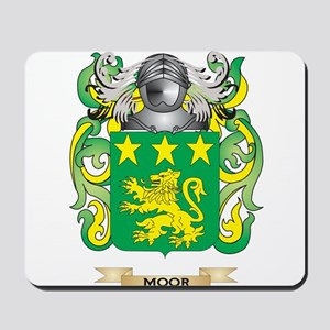 Moor Coat of Arms - Family Crest Mousepad