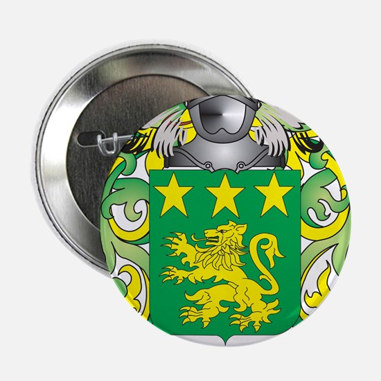 "Moor Coat of Arms - Family Crest 2.25"" Button"