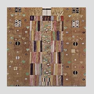 Gustav Klimt Art Tile Coaster Art Deco Print P1of2