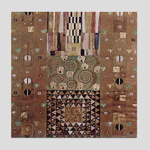 Gustav Klimt Art Tile Coaster Art Deco Print- 2of2