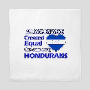Hondurans husband designs Queen Duvet