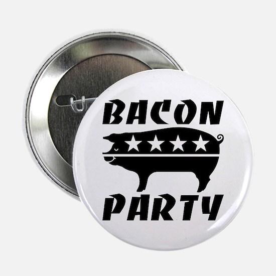 """Bacon Party 2.25"""" Button"""