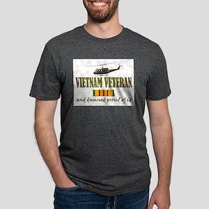 Vietnam vet Huey Mens Tri-blend T-Shirt