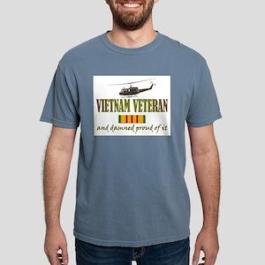 Vietnam vet Huey Mens Comfort Colors Shirt