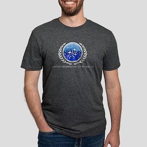Federation Of PLanets Logo Mens Tri-blend T-Shirt