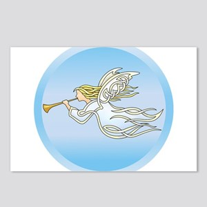Flying Angel Postcards (Package of 8)