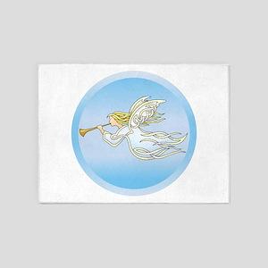 Flying Angel 5'x7'Area Rug