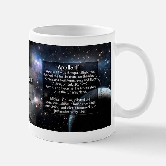 Apollo 11 Historical Mugs