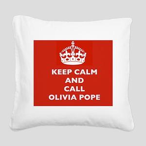 Keep Calm and Call Olivia Pope- Scandal TV Show Sq