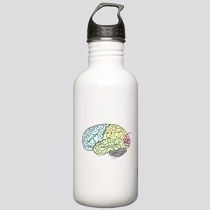 dr brain lrg Water Bottle