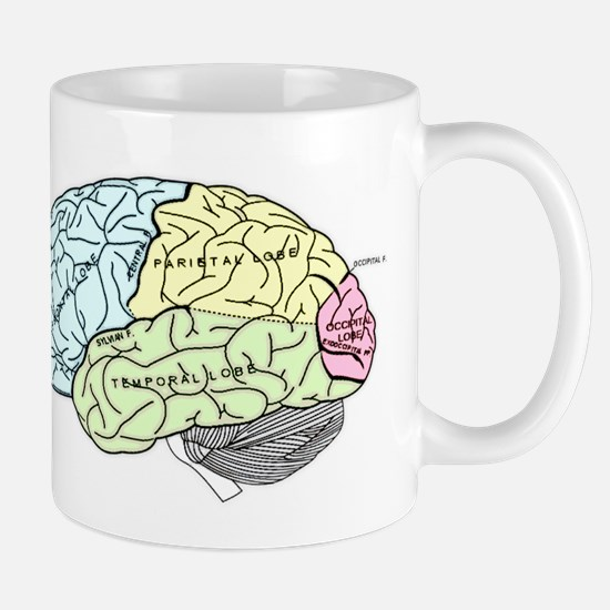 dr brain lrg Mugs