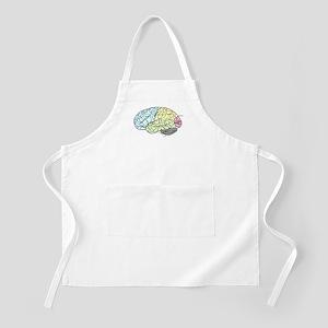 dr brain lrg Apron