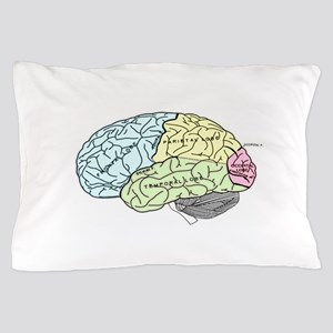 dr brain lrg Pillow Case