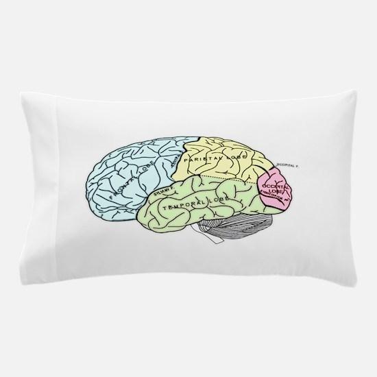 dr brain lrg Pillow Case