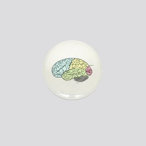 dr brain lrg Mini Button