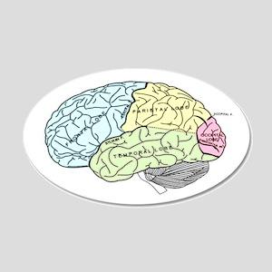 dr brain lrg Wall Decal