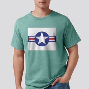 USAircraftStar10x8 Mens Comfort Colors Shirt