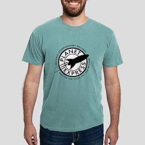 Planet Express Logo Ligh Mens Comfort Colors Shirt