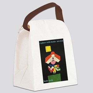 1958 Children's Book Week Canvas Lunch Bag