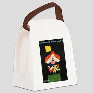 1958 Children's Book Week Canvas Lunch Bag