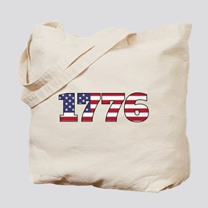 1776 US Independence Tote Bag