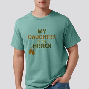 Dog Tag Hero Daughter Mens Comfort Colors Shirt