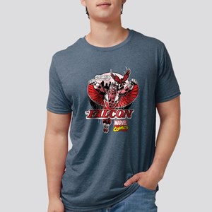 Marvel Falcon Mens Tri-blend T-Shirt