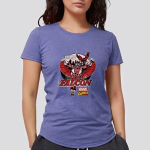 Marvel Falcon Womens Tri-blend T-Shirt